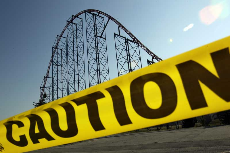 caution rollercoaster
