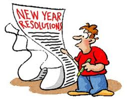 New Years Resolution cartoon
