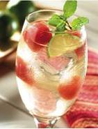 Cherry Limeade infused water