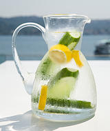 Cucumber & Lemon Medley water